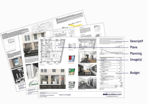 Exemple rendu plans devis architecte Archibien B2B.5e7acf5